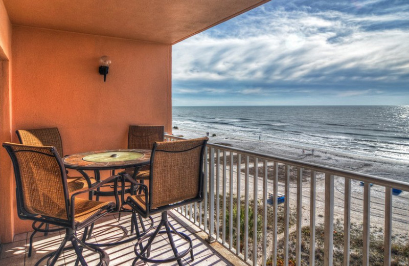 Rental balcony at beachrentals.mobi. LLC.