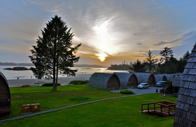 Resort view at Ocean Village Beach Resort