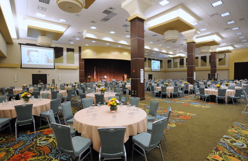 Conference center at Oasis Hotel and Convention Center.