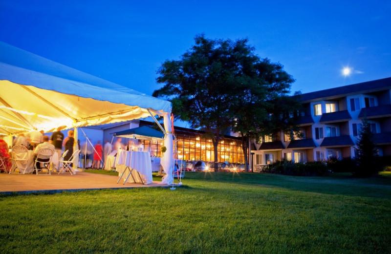Wedding at McGuire's Resort.