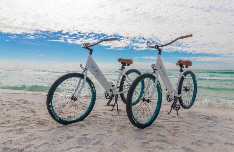 Bikes at Paradise Properties Vacation Rentals & Sales.