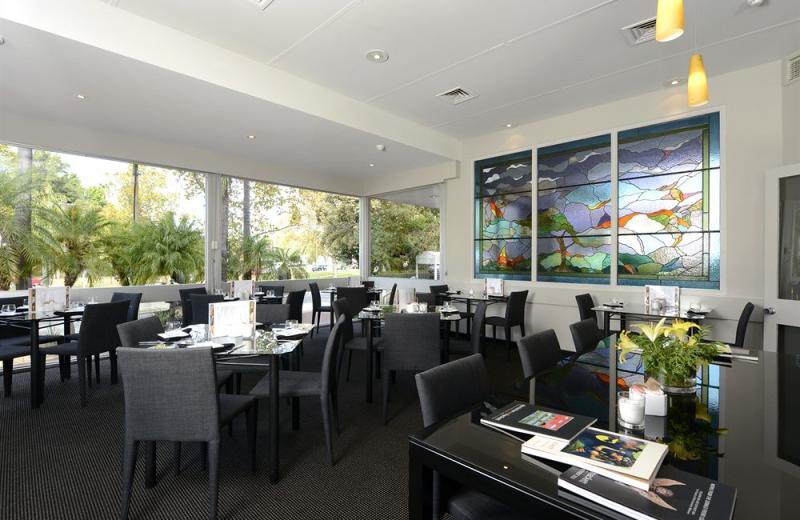 Dining at Sullivans Hotel Perth.
