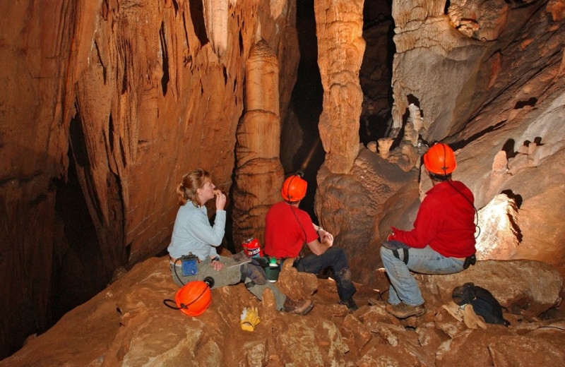 Caves near Red Apple Inn and Country Club.
