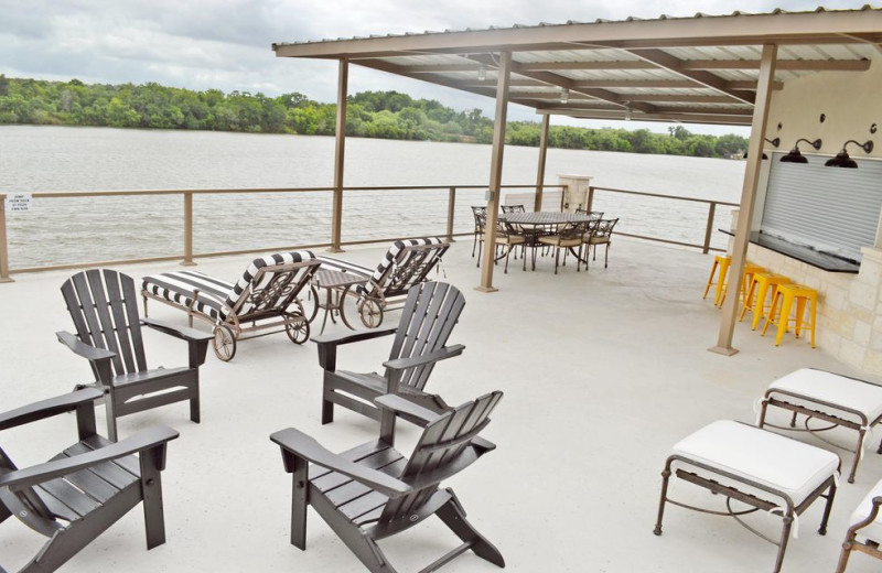 Rental dock at Casita Grove Vacation Home.