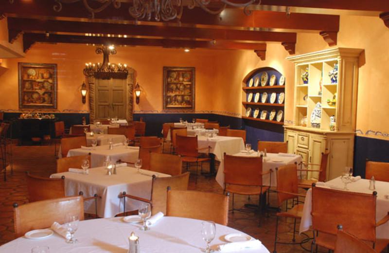 Fine dining at Hotel Encanto.