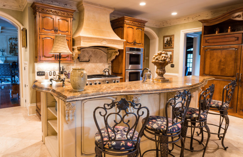 Kitchen at Lions Gate Estate.