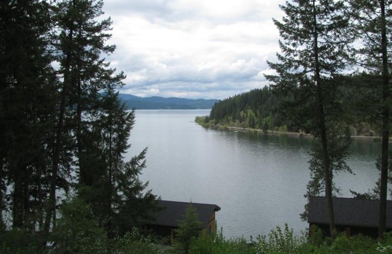 View of the lake at Bennett Bay Inn.