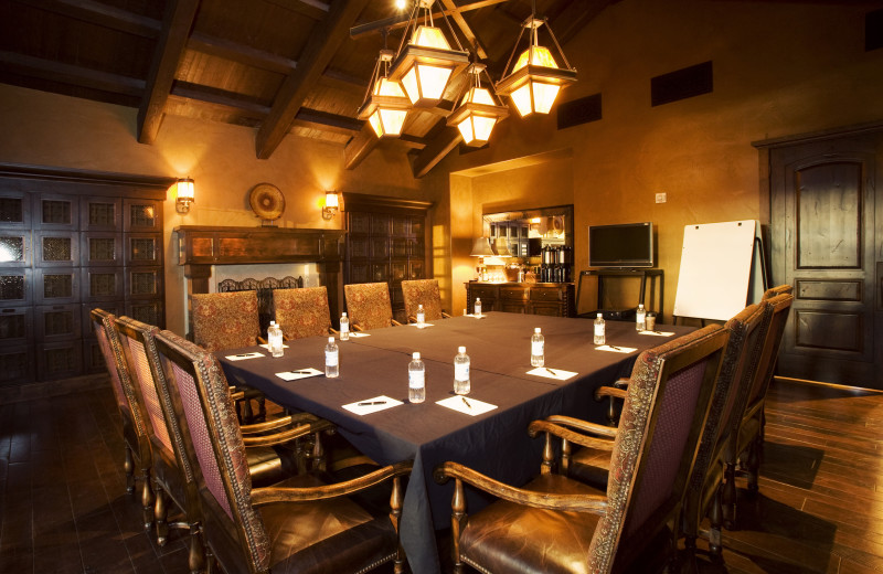 Meeting room at Pronghorn Resort.