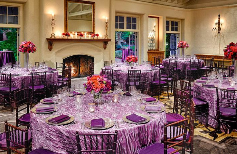Wedding reception at The Fairmont Sonoma Mission Inn & Spa.