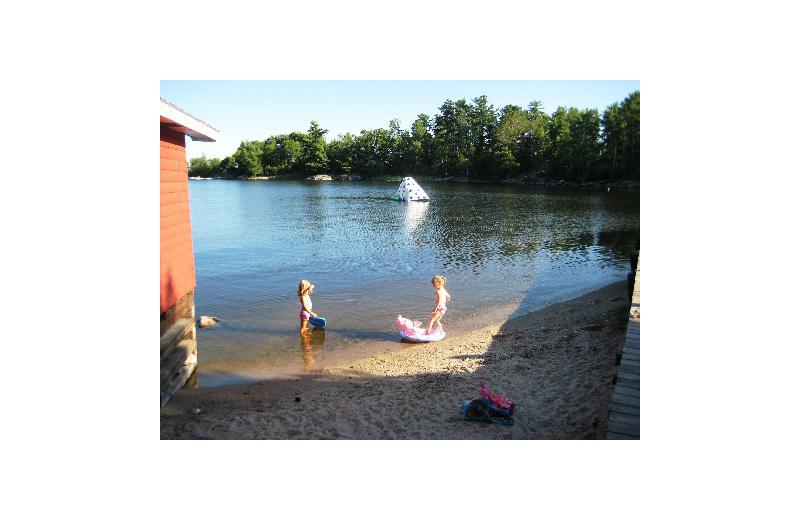 Lake view at Birch Grove Resort.