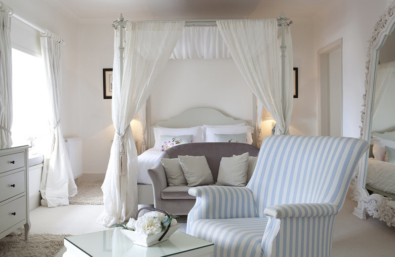 Guest room at Talland Bay Hotel.