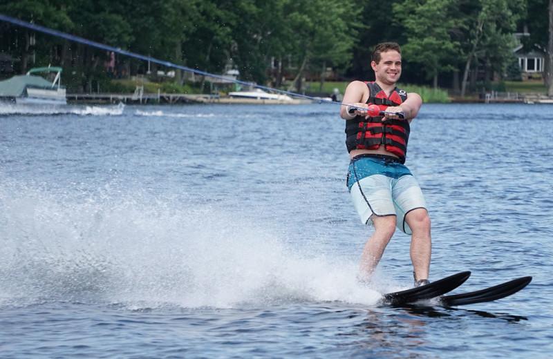 Water ski at Woodloch Resort.