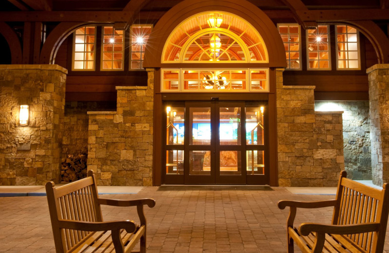 Entry at Wyoming Inn of Jackson Hole.
