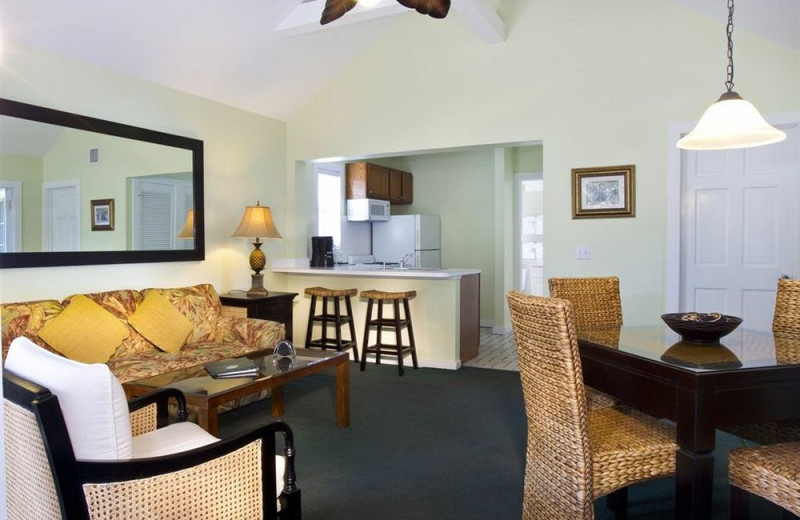 Guest room at The Banyan Resort.