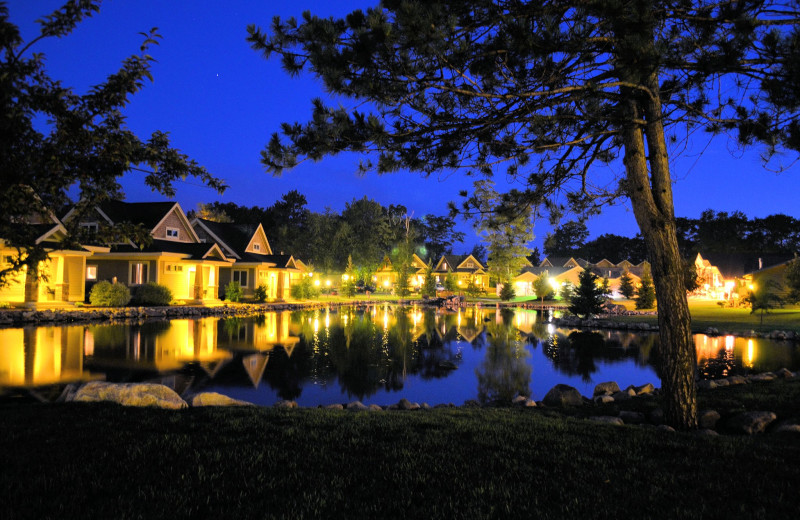 Exterior view of Kavanaugh's Sylvan Lake Resort.