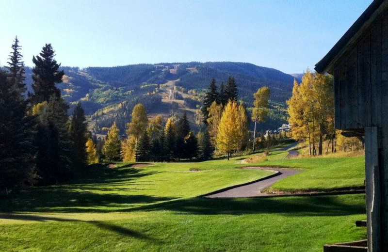 Golf course at East West Resorts Beaver Creek.