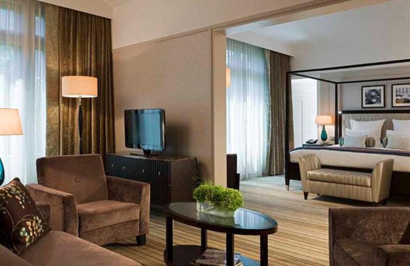 Guest suite at Hotel Ambassador.