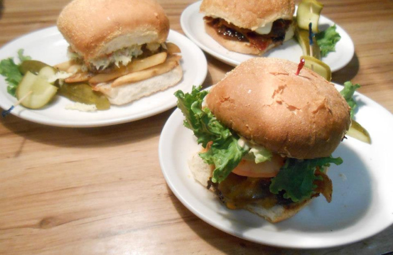 Dining at Buckhorn Resort.