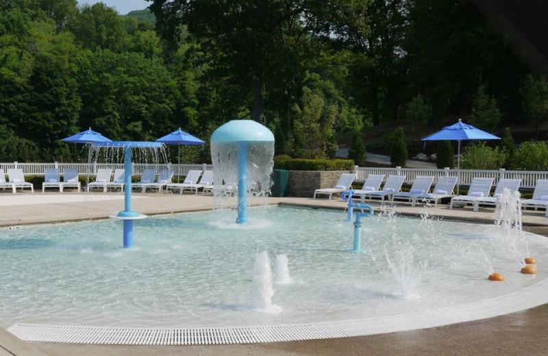 Kid's pool at The Homestead.