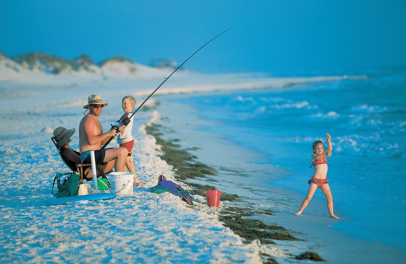 Fishing at Bermuda Bay Resort.
