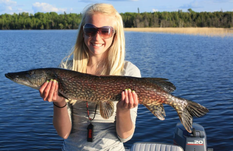 Fishing at Kingfisher Lodge