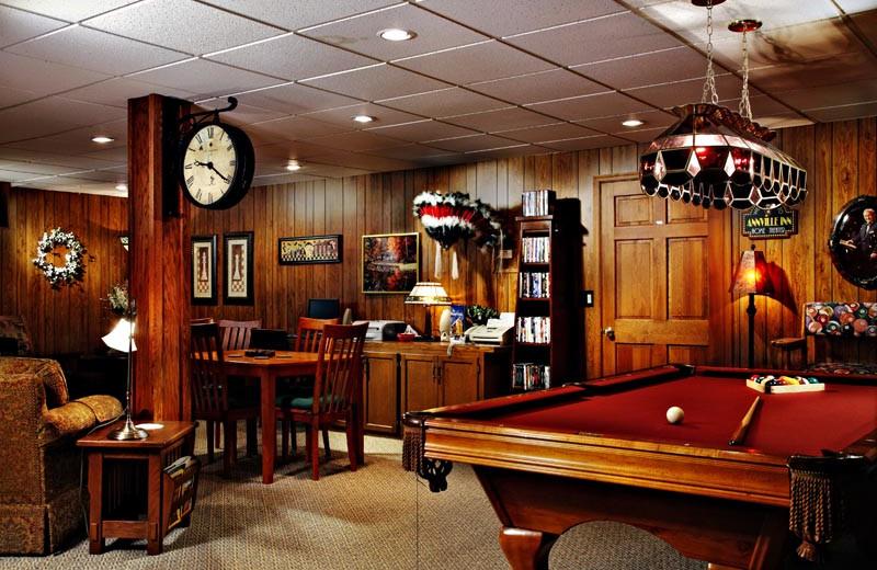Living room at Annville Inn.