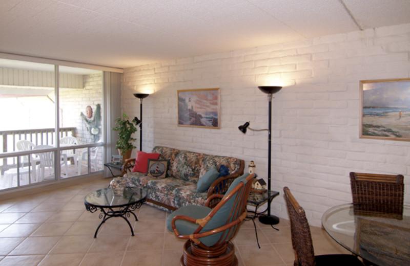 Condo Interior at Coral Cay Beachfront Condominiums