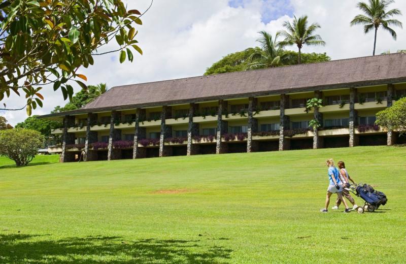 Golf course at Fiji Mocambo-Nadi.