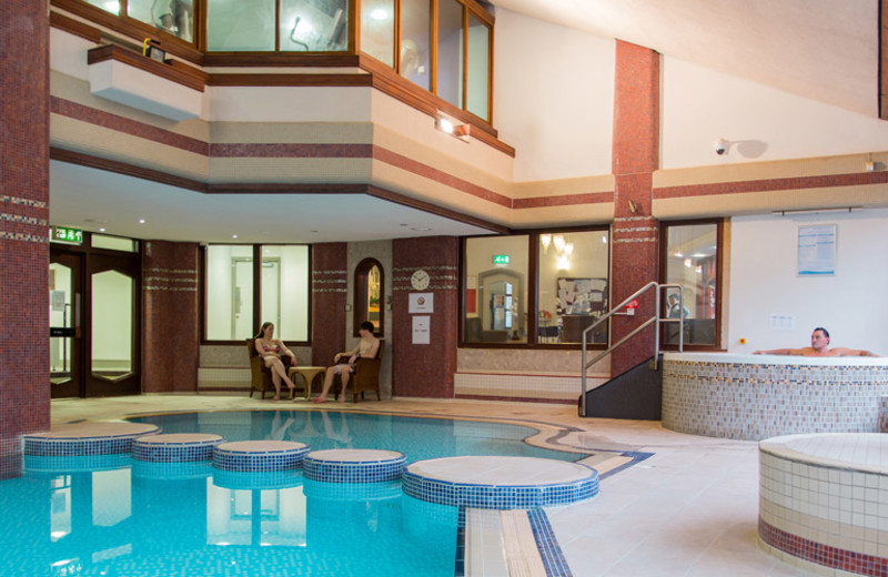 Indoor pool at Whitewater Hotel & Leisure Club.