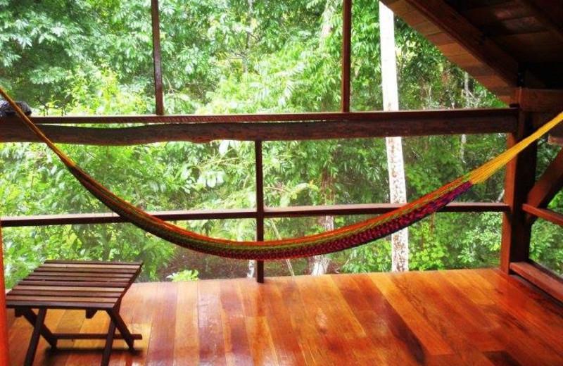 Relaxing at Crystal Paradise Resort.