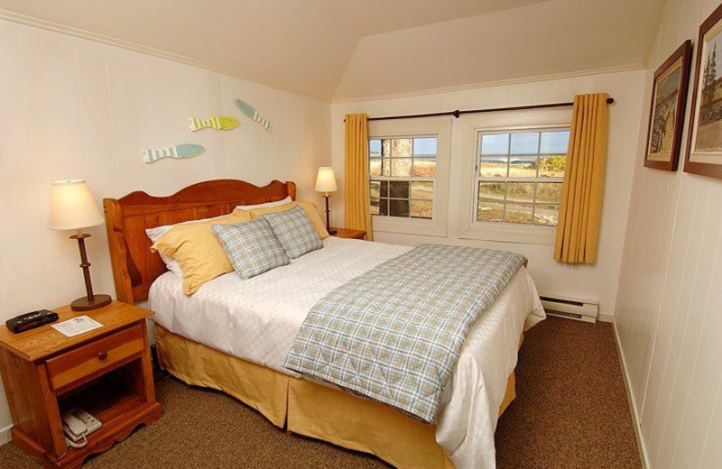 Cabin Bedroom at White Point Beach Resort
