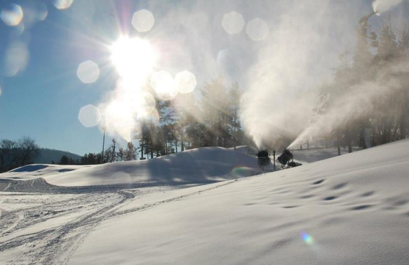 Snow Makers at Wisp Resort