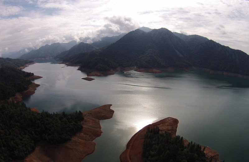 Lake view at Tsasdi Resort.