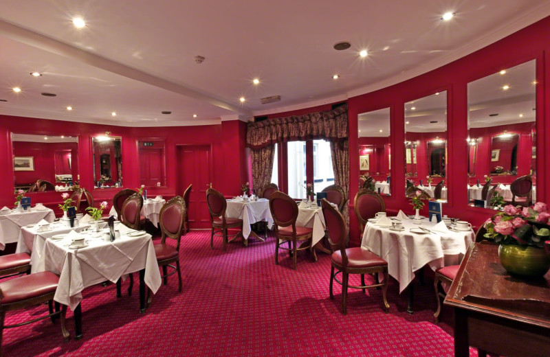 Dining at Grange Blooms Hotel.