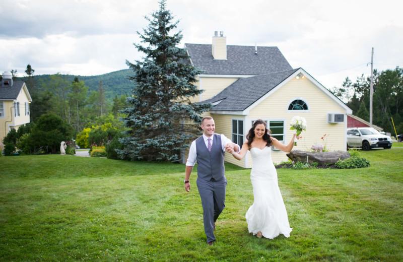 Weddings at The Red Clover Inn & Restaurant.