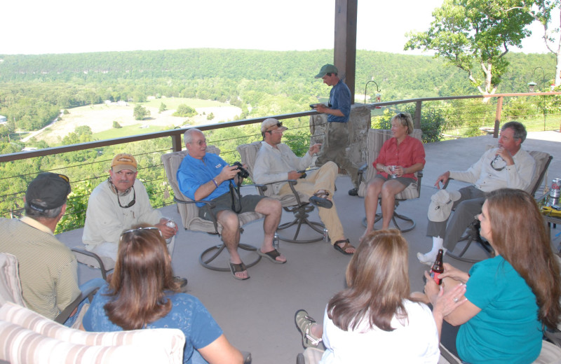 Groups at The White River Inn.
