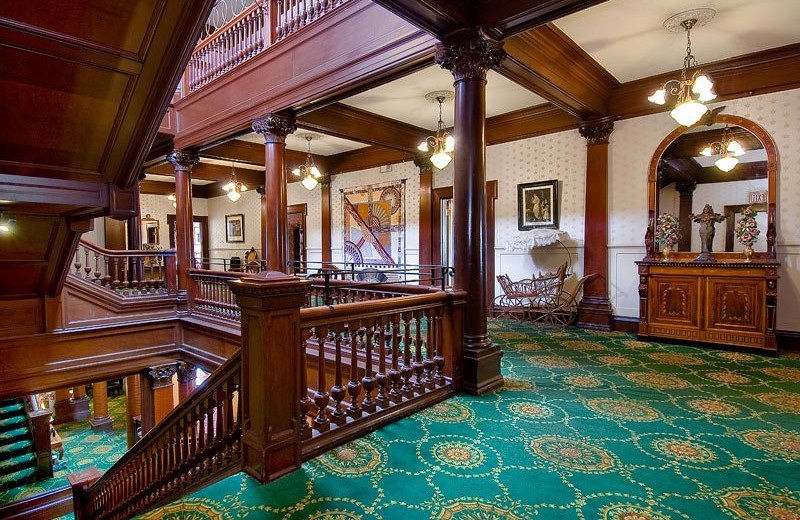 Interior view at Archbishop's Mansion.