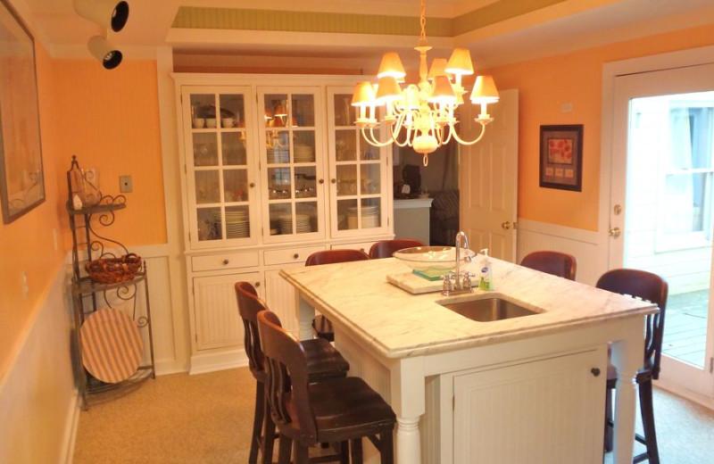 Dining room at Lake Michigan Reunion & Retreat.