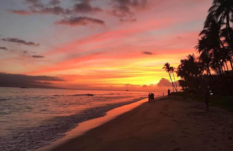 Sunset at Honua Kai Resort & Spa.