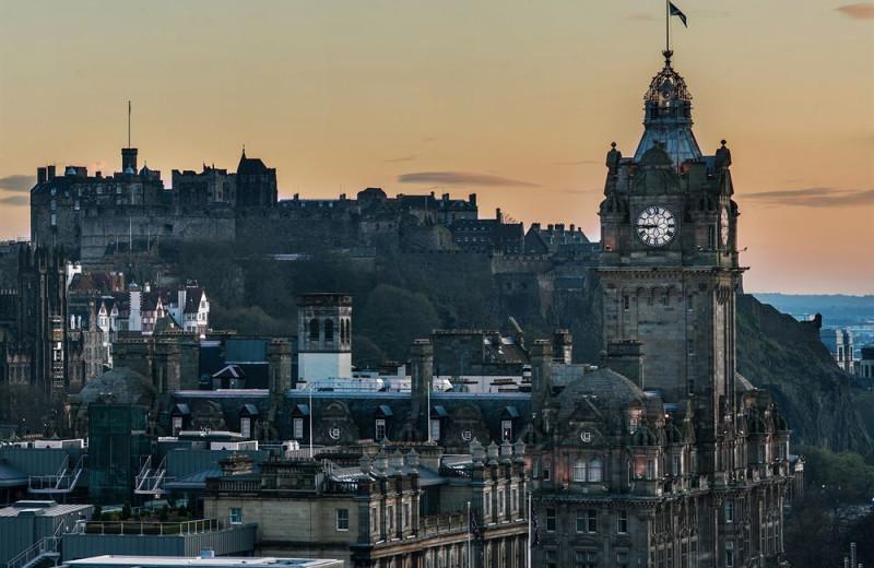 Exterior view of Balmoral Edinburgh.