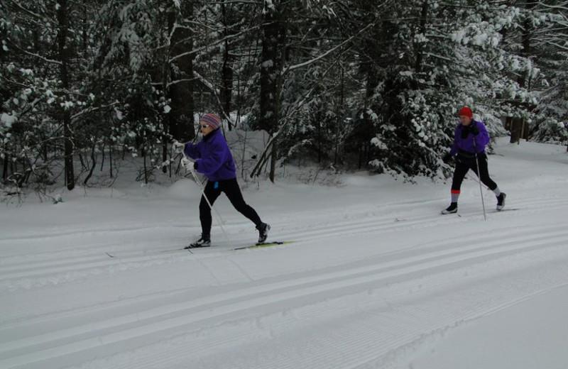Winter Fun at Lapland Lake Nordic Vacation Center