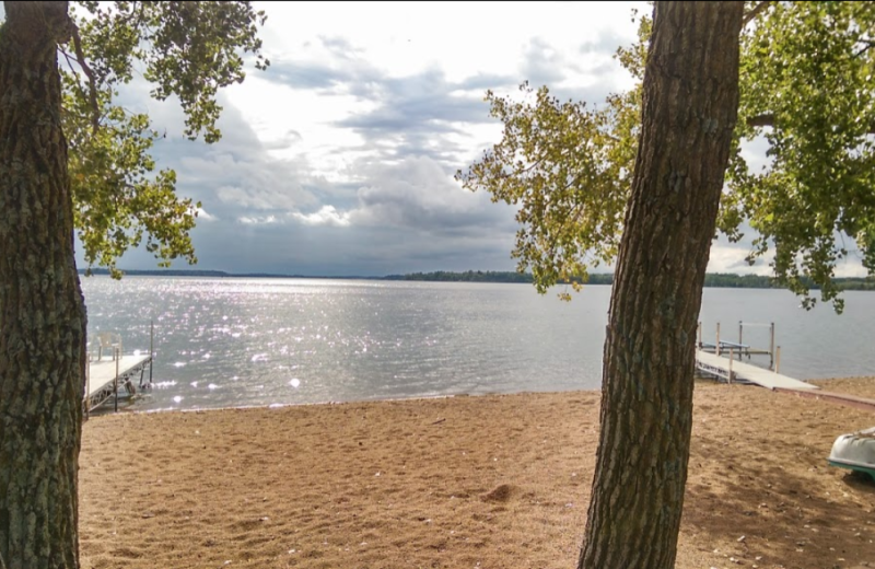 Beach at Oak Park Resort.