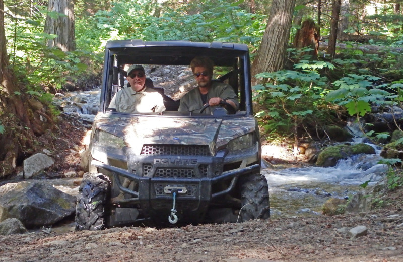 Check out our cabin & side by side ATV specials. Unique, wild and private!