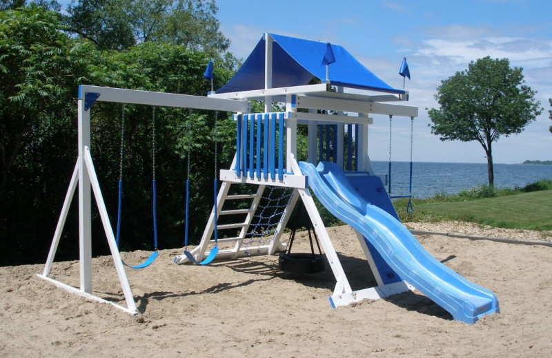 Children's playground at Bay Shore Inn.