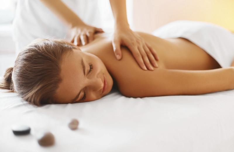 Back massage at Sojourn Lakeside Resort.