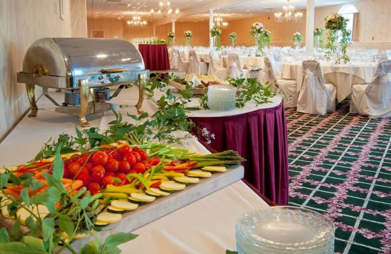 Wedding reception at Lake Morey Resort.