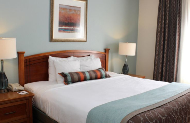 Guest room at Staybridge Suites VANCOUVER.