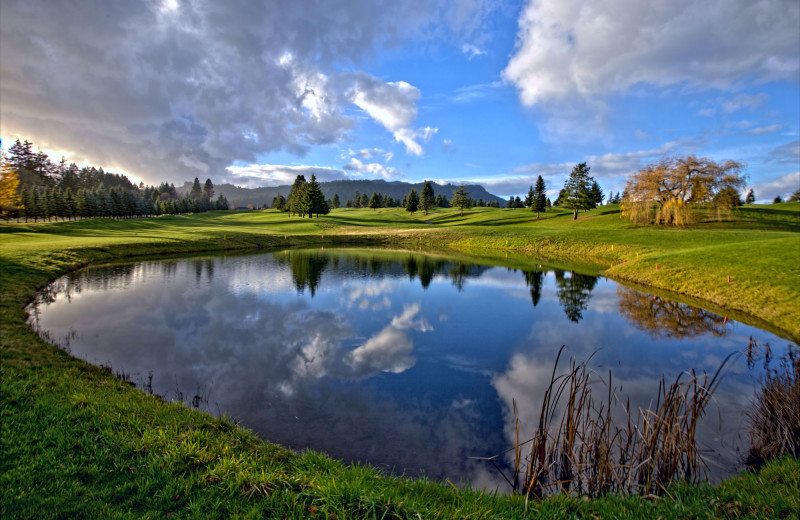 Golf course at Carson Hot Springs Spa and Golf Resort.