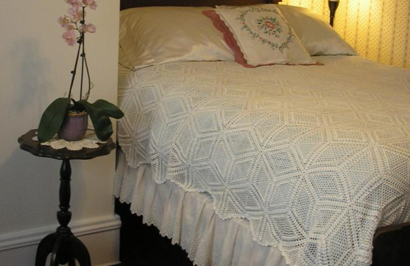 Guest room at Le Blanc House Bed & Breakfast.