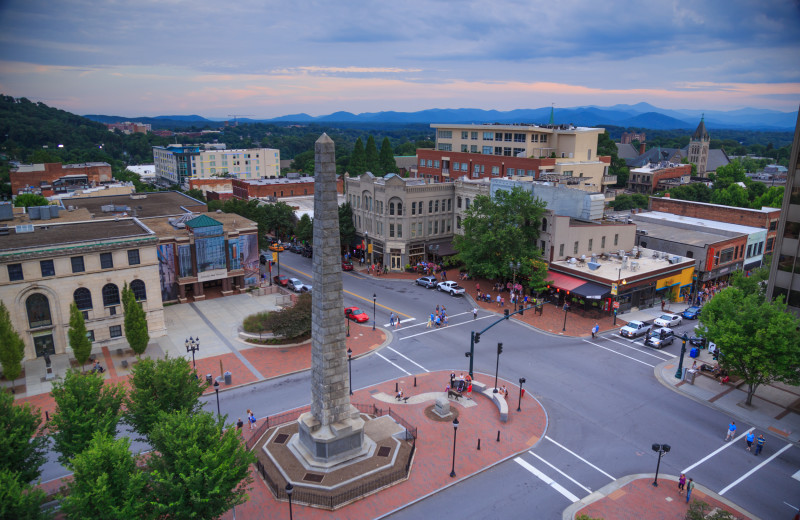 Downtown Asheville  |  Approx. 30 Minutes from The Horse Shoe Farm